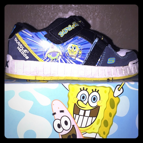 more photos 86b36 a6f82 Spongebob Sneakers by SKECHERS. M 5a2216166d64bc4c1c0131b4