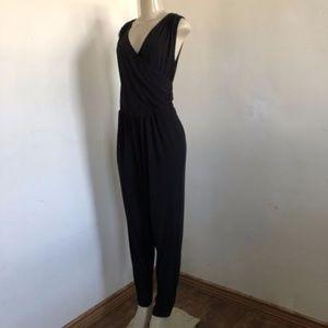 f990e9be3e970 torrid Pants - Torrid Jumpsuit Black Surplice Crossover V Neck