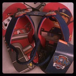 Other - NWT-BOYS PAW PATROL Flip Flops (size L: 9-10)
