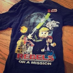 Other - LEGO Star Wars t-shirt, kids size M