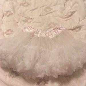 Dresses & Skirts - White petticoat tutu never worn