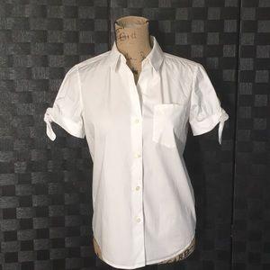 Kate Spade White Button Down Shirt