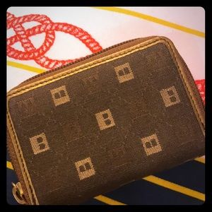 Bally card wallet