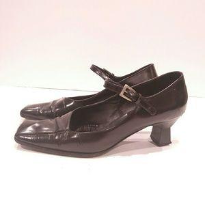 online store 05ff8 f5617 ... Prada black leather mary jane 8.5 ...