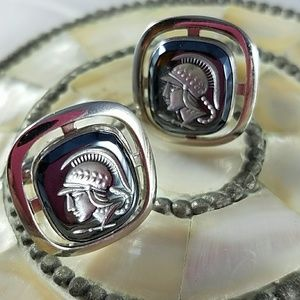 Other - Silver Tone Cuff Links