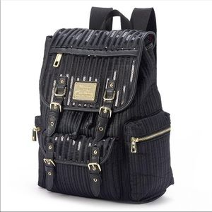 Juicy Couture sequins quilted backpack