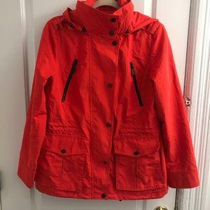 Michael Kors Red/Orange Lightweight Jacket Sz M