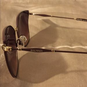 Gone 12/20! Balmain brown colored sunglasses. NWT