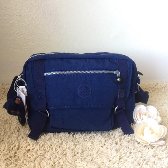 Kipling Gracy Messenger Bag - Ink Blue 784953cc28afa