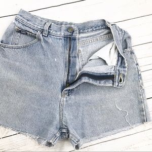 Vintage High Waisted Cut Off Shorts