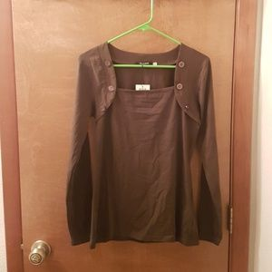 NWT Olive green top
