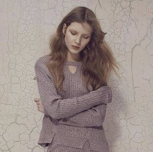 For Love and Lemons KNITZ Soft Pink Sweater