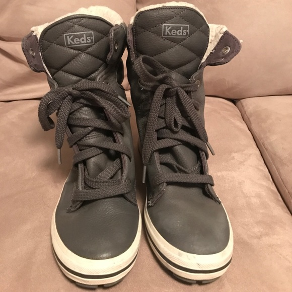 Keds Shoes | Keds Fleece Lined High Top
