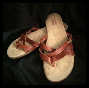 Vintage Sunjun strappy thong sandals