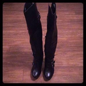 Leather Heel Xo Boots