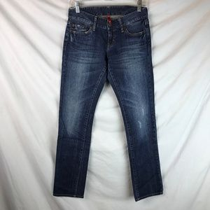 Uniqlo Dark Wash Skinny Jeans