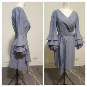 Clovers & Sloane Denim Dress by Maggy London NWOT.