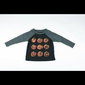 [marvel] Halloween Infant boy pumpkin shirt