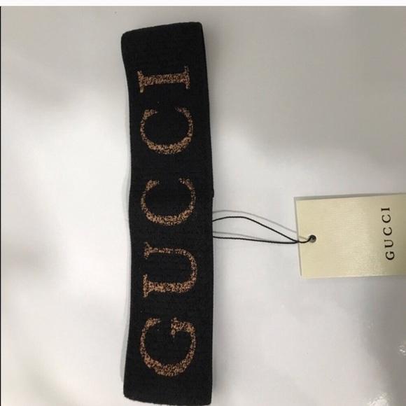 7c6cd63d8fb Gucci Accessories - Black Gucci Headband