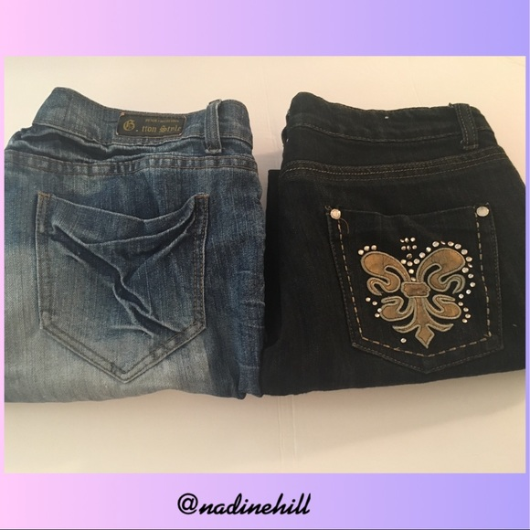 Think only! Free teen jeans