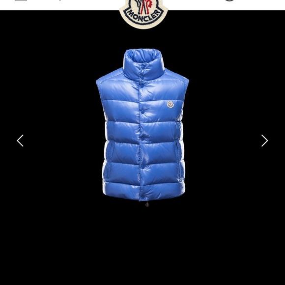 dbbd4702c TIB Slate Blue Moncler Vest (Authentic ) NWT