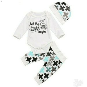 Other - 🆕 NEWBORN 3 PIECE OUTFIT