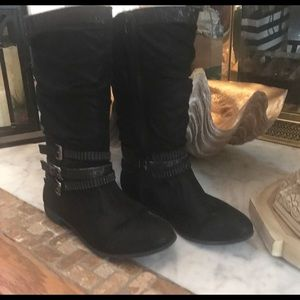 Justice Girls Black Boots