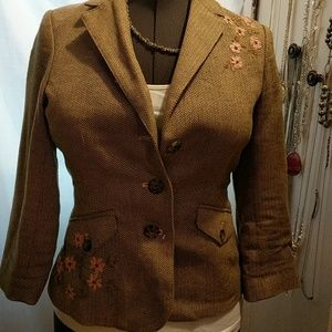 American Eagle Tweed blazer