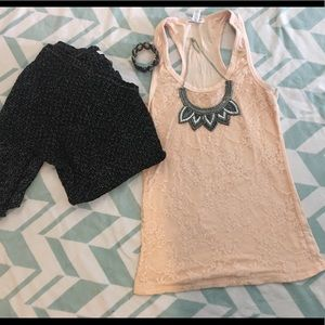😍 3 for 25!!! Ambiance Apparel Lace Top!