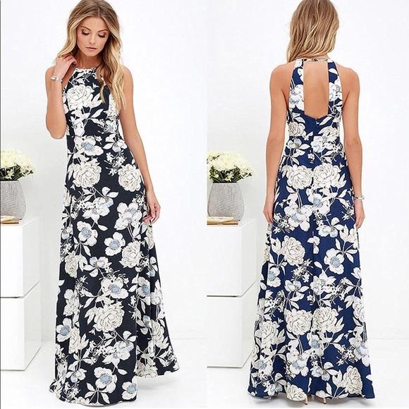 good service outlet boutique classic fit Anself Dresses | Halter Top Maxi Dress | Poshmark