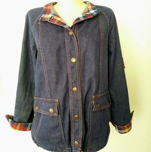 Vintage 70s VTG 1970s Denim Blue Jean Jacket