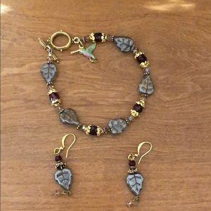 Jewelry - Bracelet and earrings
