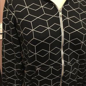 American Apparel Tops - American Apparel geometric hoodie size S