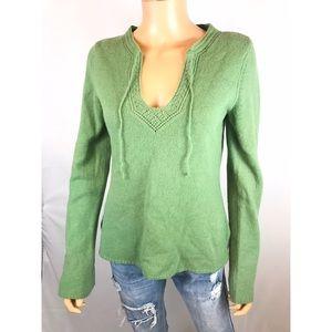 American Eagle Nordic Sweater Wool Long Sleeve L