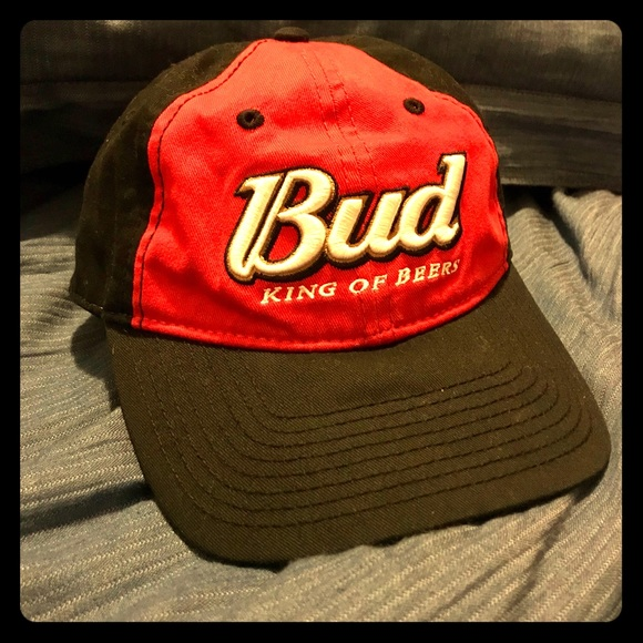 Budweiser Beer Strap Back Dad Cap  bb75b38ee42e