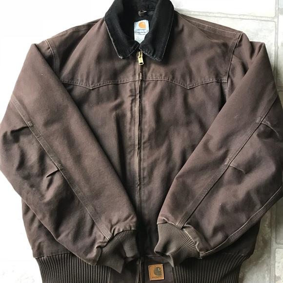 Carhartt Jackets Coats Mens Corduroy Collar Jacket Warm Poshmark