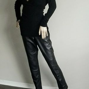 NWT DANA BUCHMAN 100% LEATHER PANT