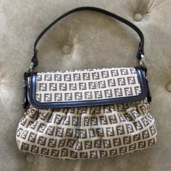 d65d3353c4 Fendi Handbags - FENDI ZUCCHINO CHEF BAG
