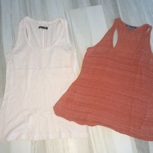RAG AND BONE VINCE LOT IF 2 tank tops xs