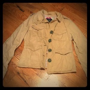 American eagle button blazer/jacket tan size small