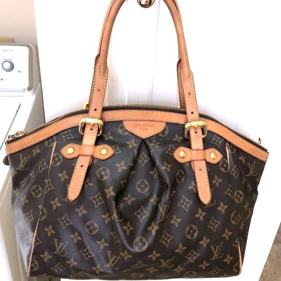4ab8ea9d1bb4 Louis Vuitton Handbags - Louis Vuitton Monogram Tivoli Gm Shoulder Bag
