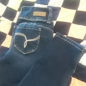 Almost new ankle jeans
