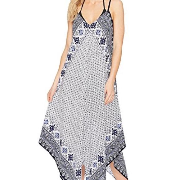 da4a82b1c0 Tommy Bahama Tika Tiles Scarf Dress Coverup. M 5a22df0fc284560a620360f6