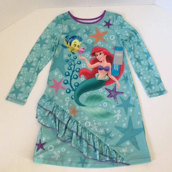 8aa71f43b6 Disney Store Princess Ariel Nightgown