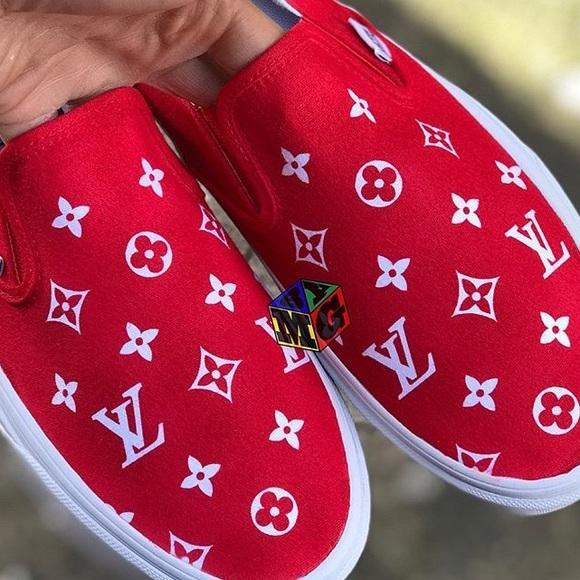 Custom Louis Vuitton Vans