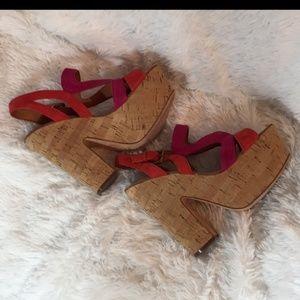 Shoes - Ash Cork Platform Sandals