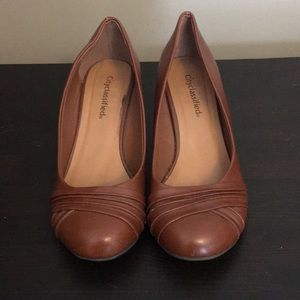 Modcloth City Classified Brown Pumps