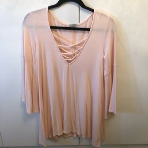 Ecote from Urban Outfitters Light Pink Dress