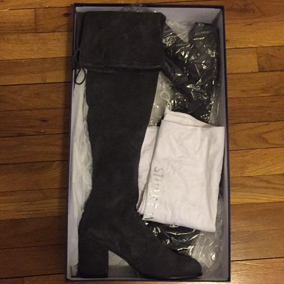 8dd5b82bbe9 Stuart Weitzman Tieland boots - Slate Gray. M 5a22e7686a5830ac2503836b
