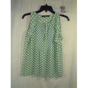 ROSE & OLIVE Womens Size S Green Sleeveless